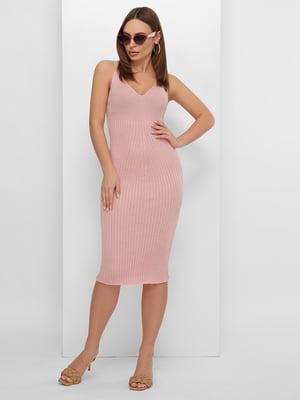 Платье пудрового цвета | 5735365