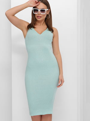 Платье бирюзовое | 5735366