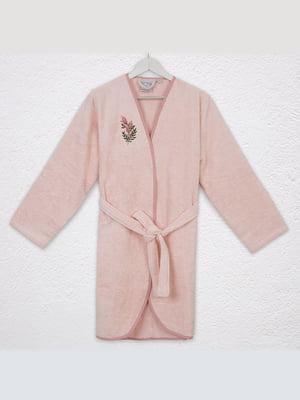 Халат розовый   5546532