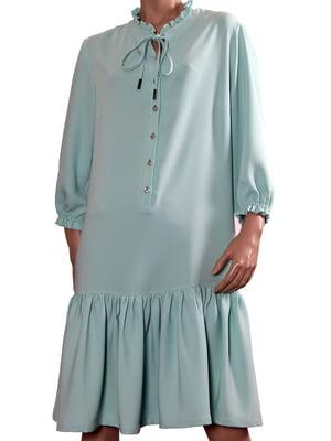 Сукня м'ятного кольору | 5737319