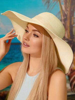 Шляпа молочного цвета | 5737141