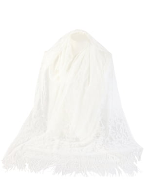Шарф белый | 5737325