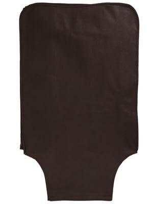 Чохол для валізи темно-коричневий | 5737347