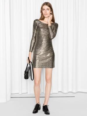 Платье золотистого цвета | 5739506