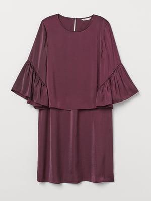 Платье бордовое | 5739509