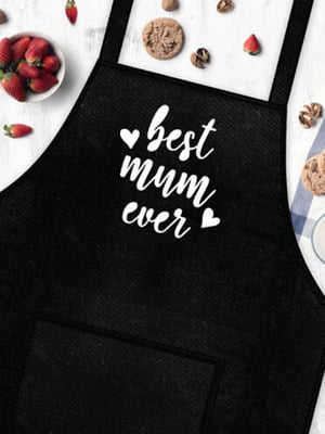 Фартук Best mum ever | 5737888