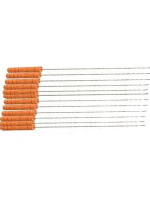 Мини шампура с деревянной ручкой (12 шт., 37 см) | 5738046