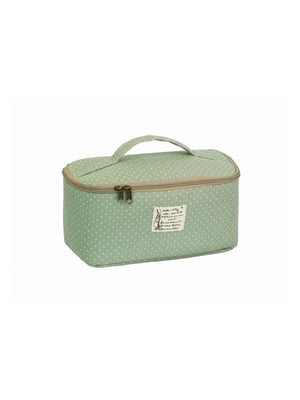 Косметичка-сумочка светло-зеленая | 5738080