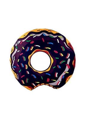 Коврик пляжный Donut brown (143 см) | 5738108