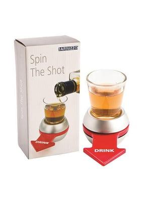 Игра алкогольная настольная «Рюмка-рулетка со стрелкой» (11.5х5 см)   5738189