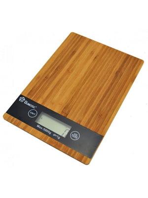 Кухонные электронные деревянные весы до 5 кг | 5738211