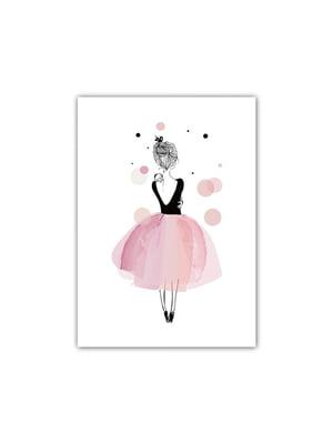 Постер в рамке на стену «Балерина» (30х40 см) | 5738228