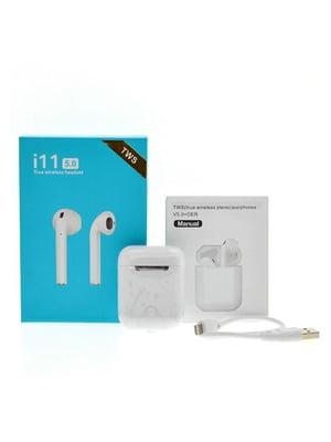 Беспроводные наушники i11-TWS Bluetooth 5.0 Sensor | 5738237