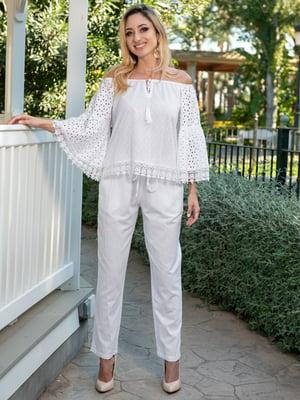 Блуза белая | 5740027