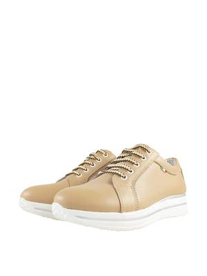 Кросівки бежевого кольору   5740694