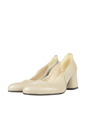 Туфлі бежевого кольору   5740416