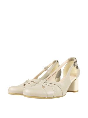Туфлі бежевого кольору   5740430