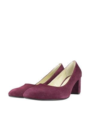Туфлі малинового кольору | 5740431