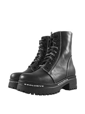 Ботинки черные   5740664