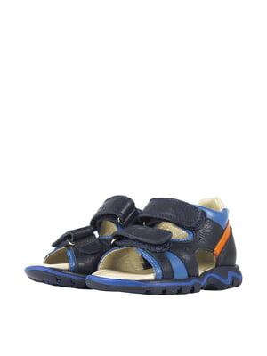 Сандалии синие   5740558