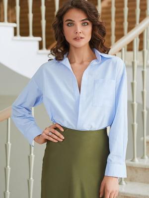 Рубашка голубого цвета | 5740765