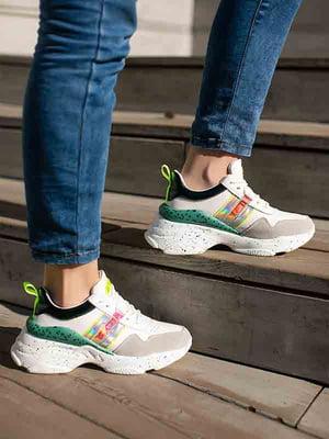 Кросівки комбінованого кольору | 5740784
