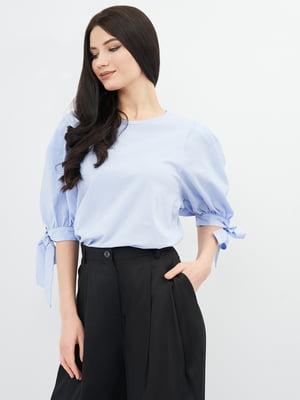 Блуза сиреневого цвета   5740953