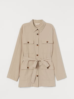 Куртка бежева | 5741224