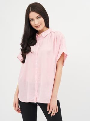 Сорочка рожева в смужку   5741283