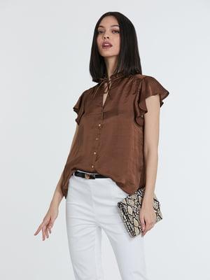 Блуза коричневая   5741297