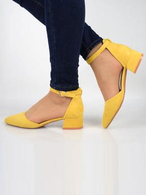 Босоніжки жовті | 5742242