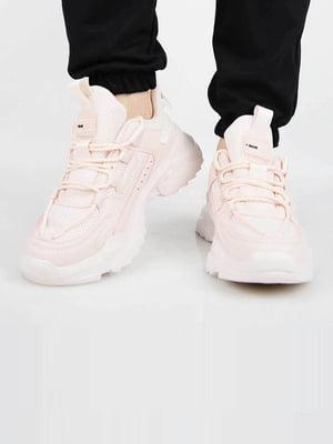 Кросівки пудрового кольору | 5742371