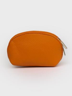 Косметичка помаранчевого кольору | 5741459
