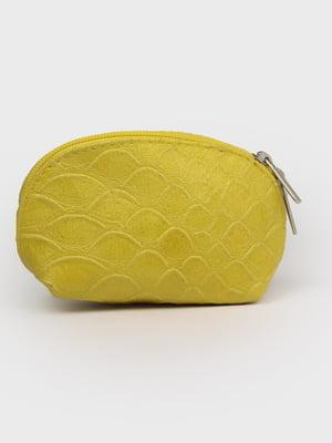 Косметичка лимонного цвета | 5741461