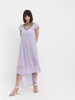 Платье сиреневое | 4302411