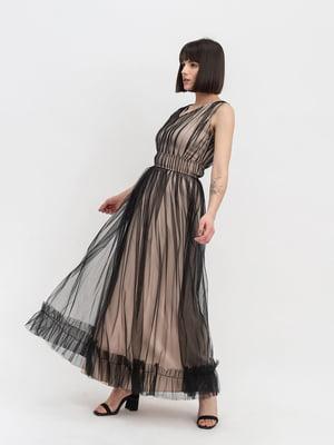 Платье двухцветное | 4982652