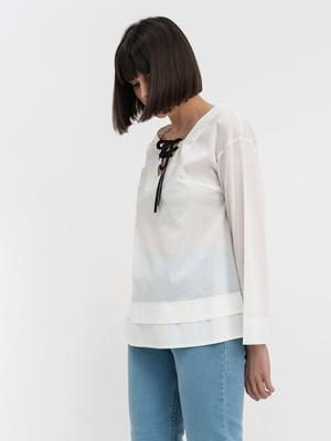 Блуза белая   5115724