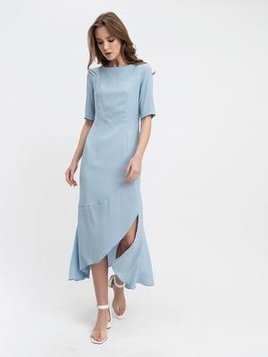 Платье голубое   5115919