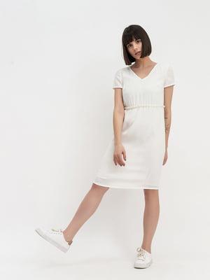 Платье молочного цвета   5115935
