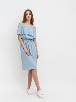Платье голубое   5115940