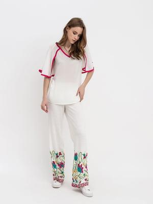 Костюм: блуза и брюки | 5120728
