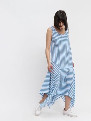 Сукня синя в смужку | 5441376