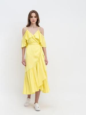 Сарафан желтый | 5661883