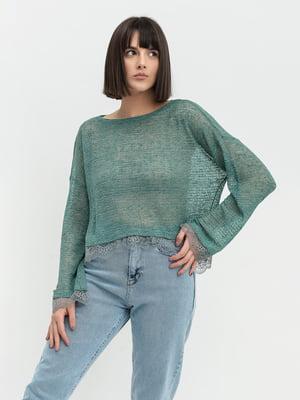 Блуза зеленая | 5703591