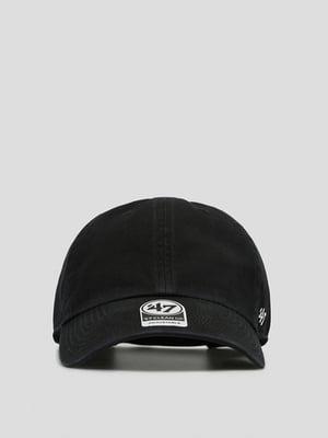 Бейсболка черная с логотипом | 5512686