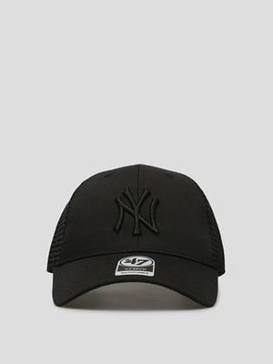Бейсболка чорна з логотипом | 5512715