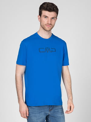Футболка синя з логотипом | 5598811