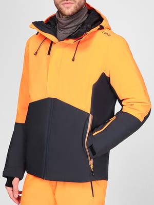 Куртка гірськолижна двоколірна | 5608069