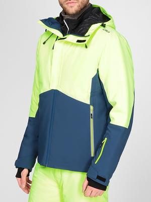Куртка горнолыжная двухцветная   5608070