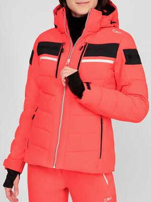 Куртка горнолыжная кораллового цвета | 5608073